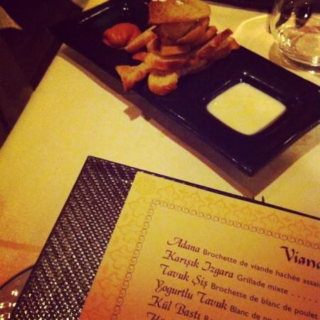 turkish restaurant paris