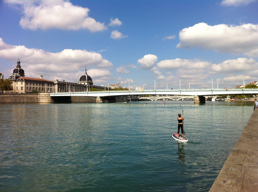stand up paddle lyon