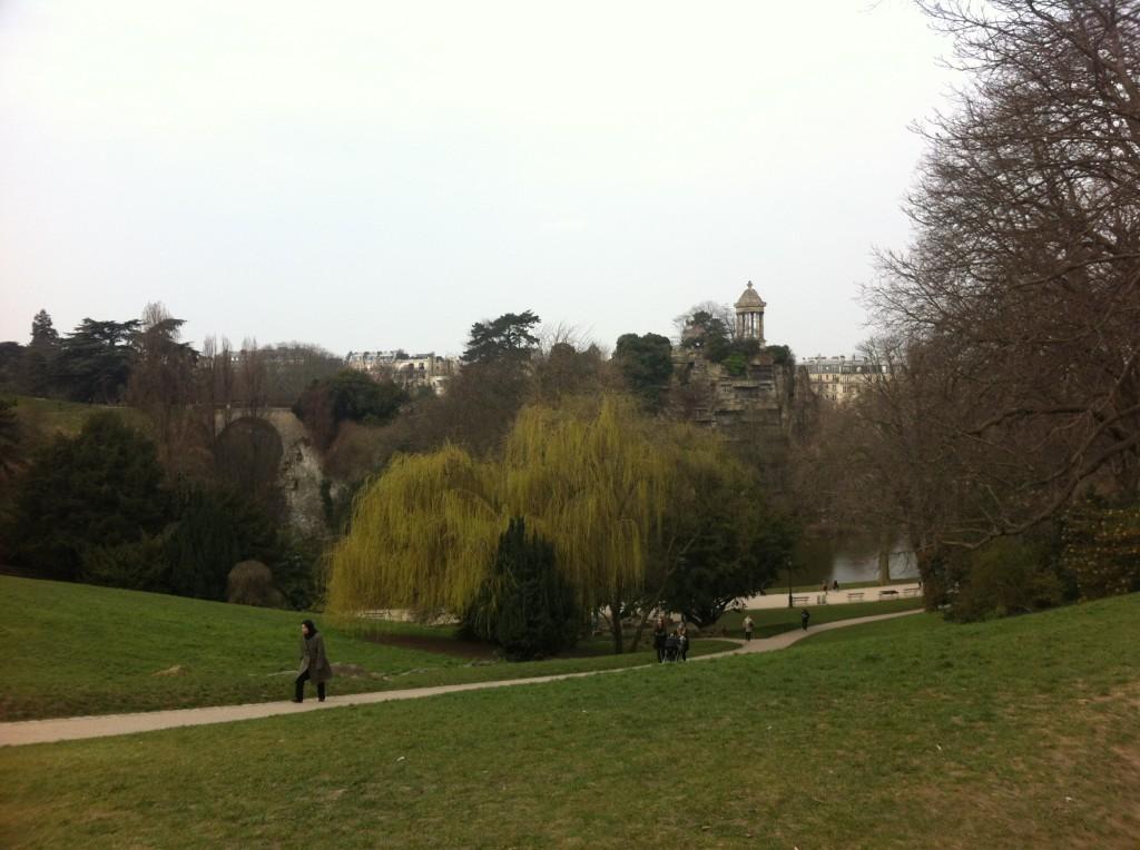buttes chaumont park