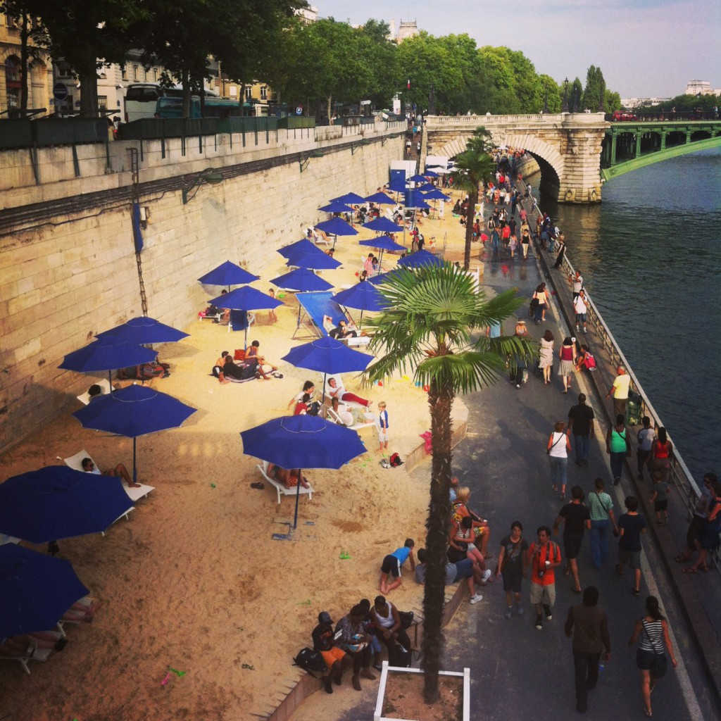 beach paris
