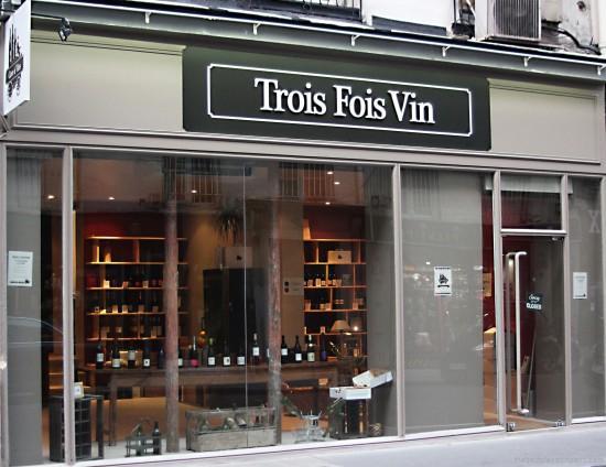 boutique trois fois vin