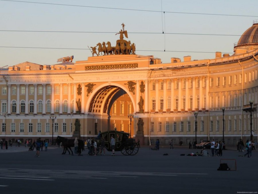 place du palais st petersbourg