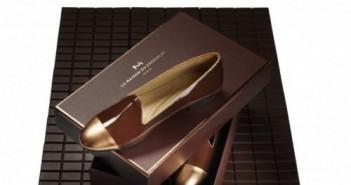 cadeau maison du chocolat chaussures
