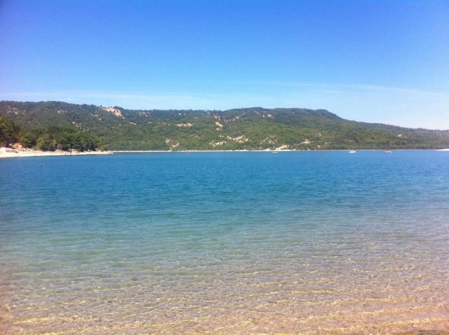 lac de sainte croix provence
