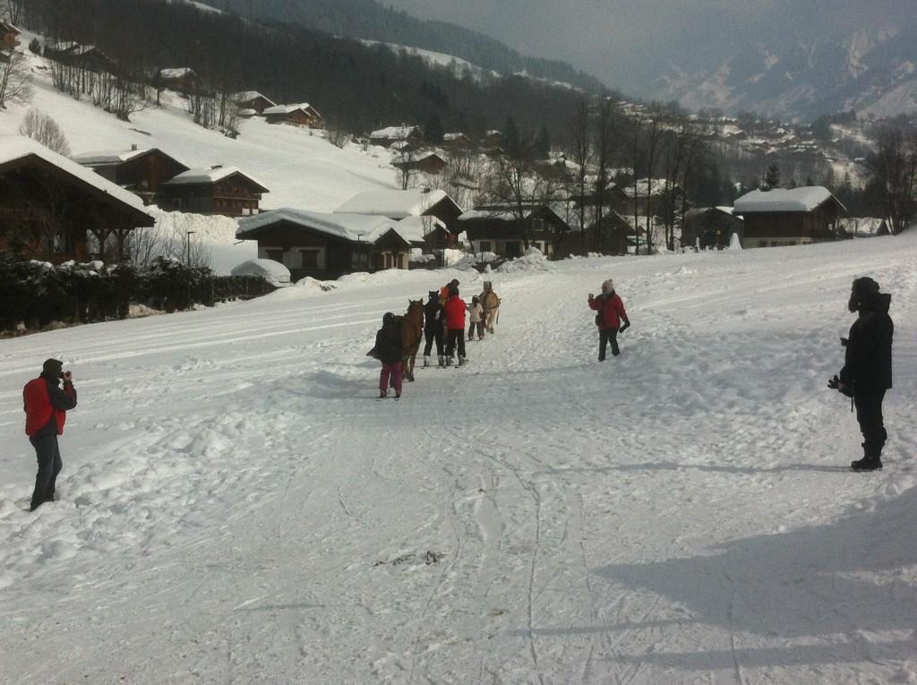 ski joering la clusaz