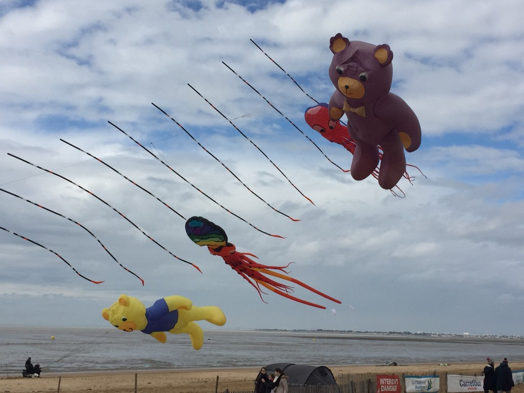 festival cerf volant chatelaillon plage