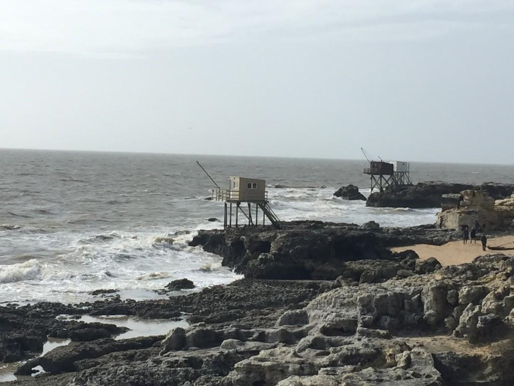 fishing huts st palais sur mer