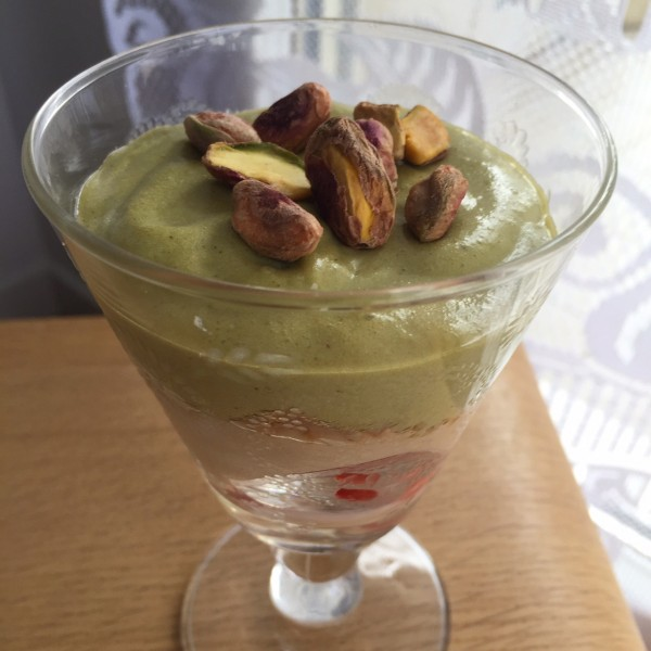 tiramisu fraise pistache