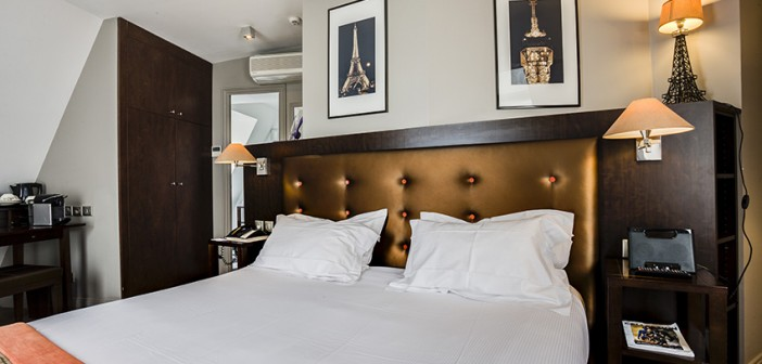 Find your perfect hotel room in Paris