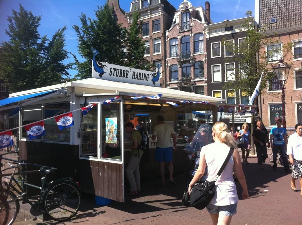 les harengs à amsterdam