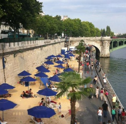 paris beaches