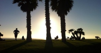 coucher de soleil à san diego