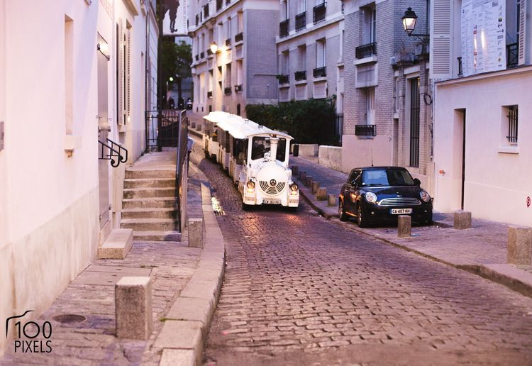 little train montmartre