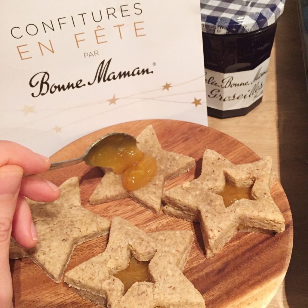 biscuits confiture bonne maman