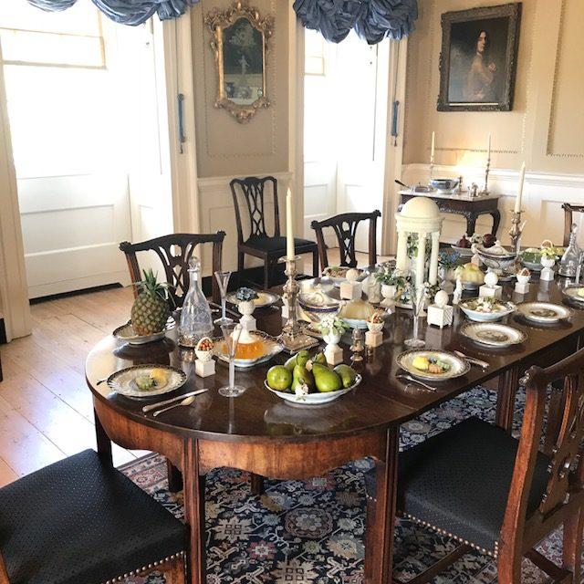 Salle à manger Jane Austen